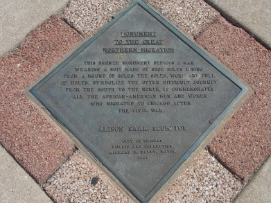 Marker for the Migration Monument