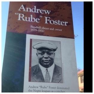 Rube Foster Tribute Marker