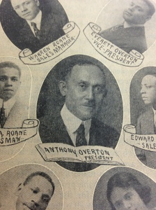 Photograph of Anthony Overton from the Encyclopedia of Colored People